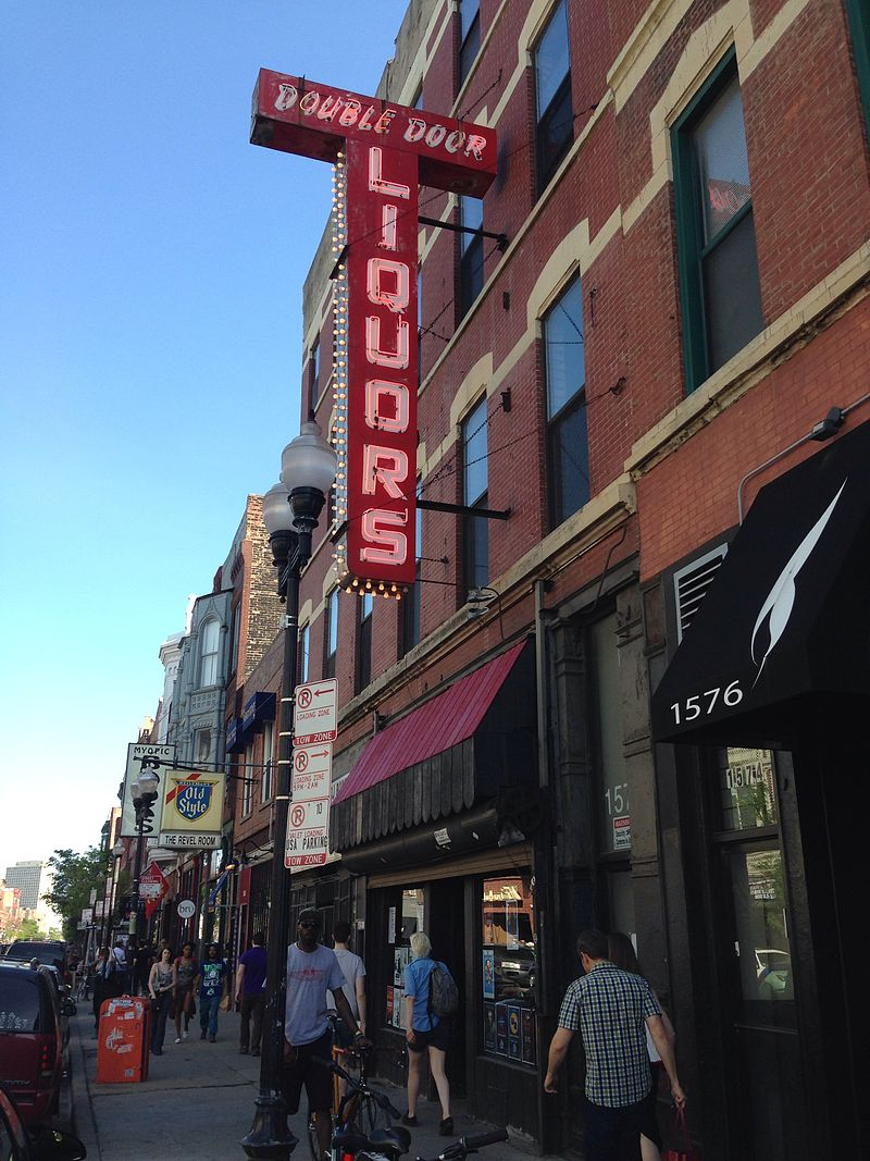 The Double Door, at the heart of the dreaded Wicker Park.(Zol87/Wikimedia Commons)