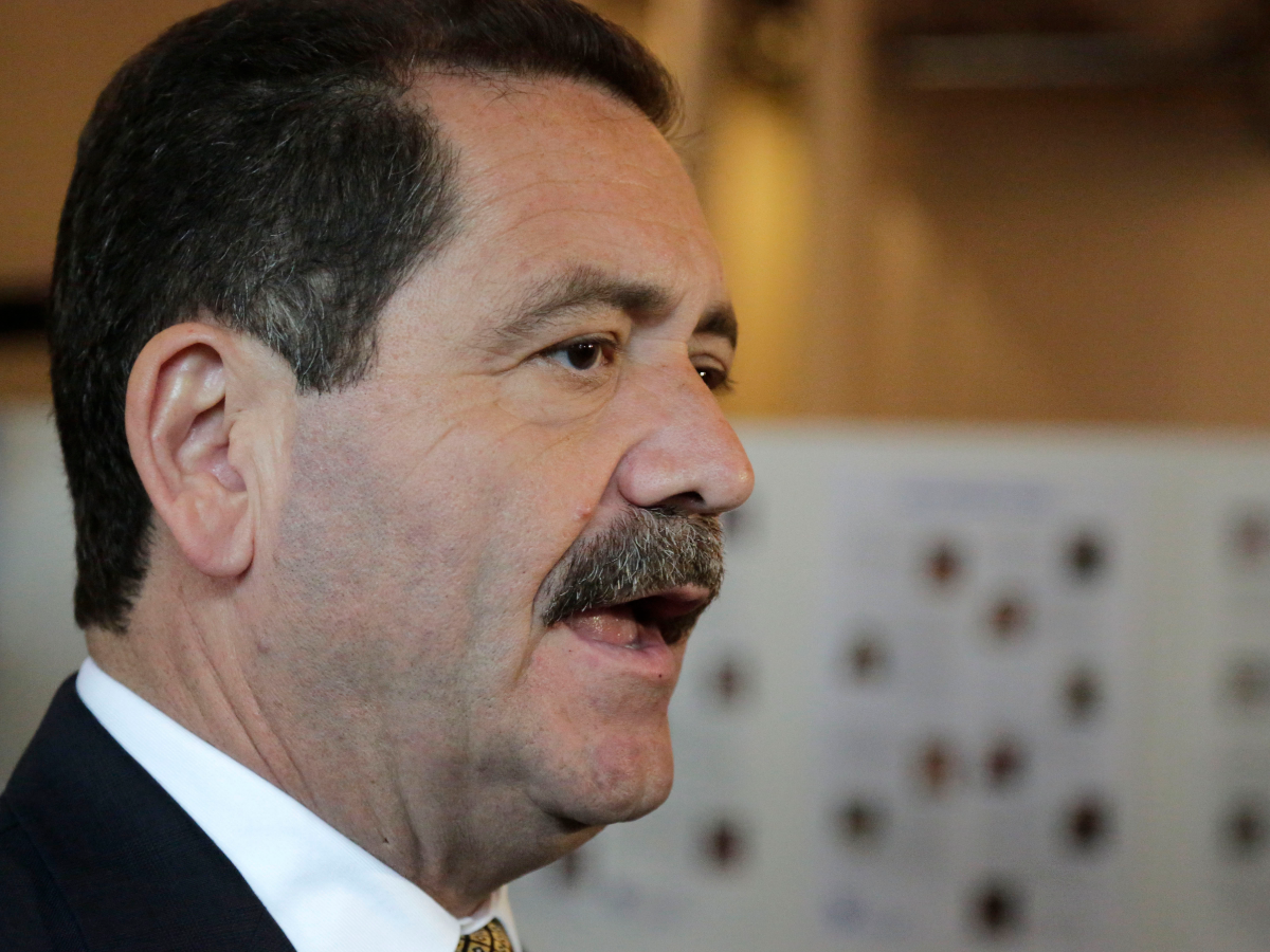 Cook County Commissioner Jesus 'Chuy' Garcia was part of a lawsuit that forced the Rauner administration to abide by a state law requiring the governor to release demographic information about state board appointments. (M. Spencer Green/AP Photo)