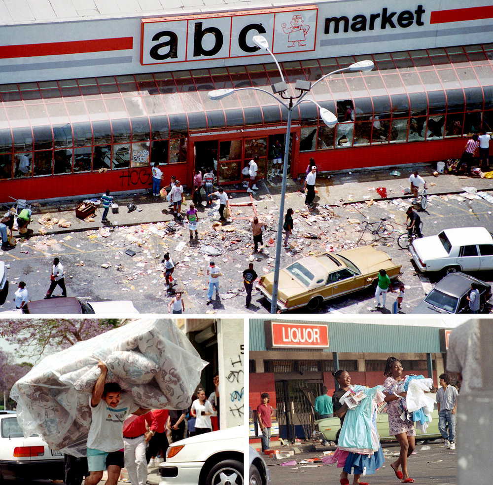 Grocery Stores Los Angeles: When LA Erupted In Anger: A Look Back At The Rodney King