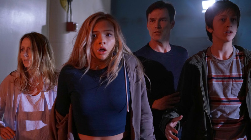 In 'The Gifted', a family goes on the run when they find out the kids are mutants. (Pictured:Amy Acker, Natalie Alyn Lind, Stephen Moyer and Percy Hynes White.) Ryan Green/Fox