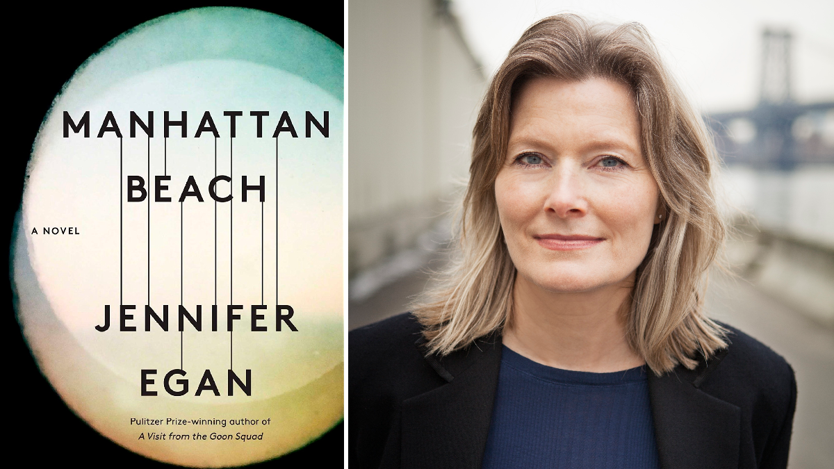 Author Jennifer Egan said writing her latest novel was exceptionally difficult. 'Sometimes you only know how hard it's going to be when some of the work is done.' (Courtesy of Simon & Schuster/Pieter M. Van Hattem)