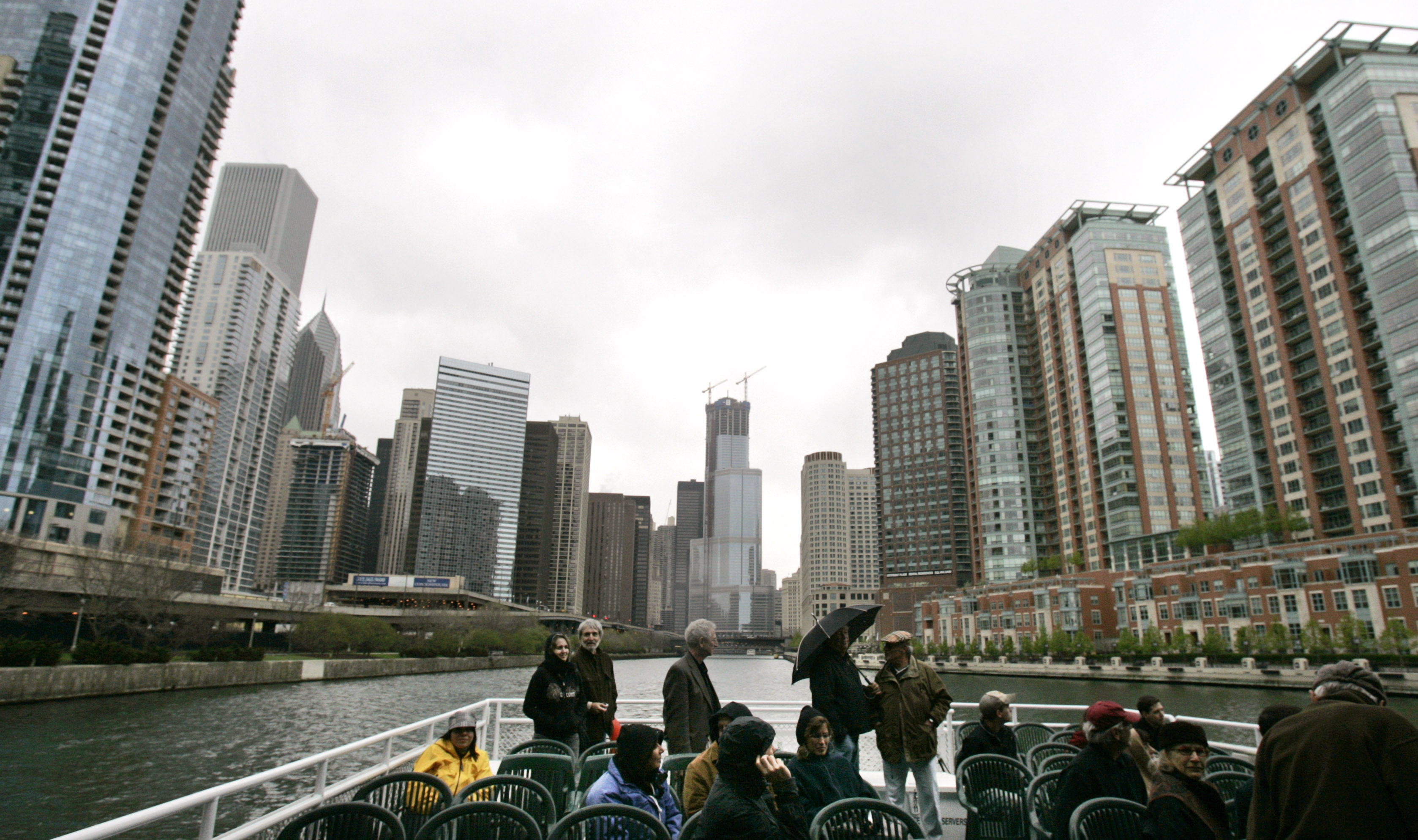 Brief description: Explore Chicago on board an Architecture River Tour. This picturesque cruise is led by a professional guide that gives the exciting details of the buildings that line the Chicago River, as well as their historical newlightish.tk: ()