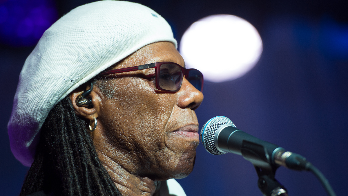 Nile Rodgers in 2016 in New York. (Photo by Scott Roth/Invision/AP)