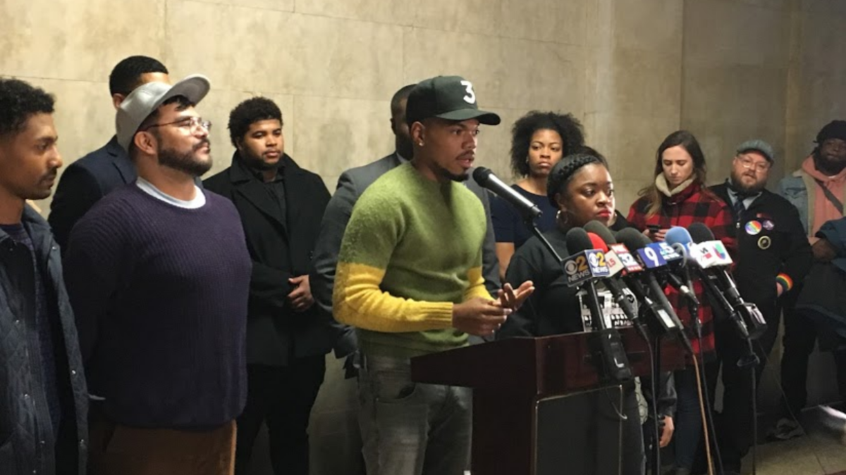 Chance The Rapper Backs Preckwinkle For Mayor