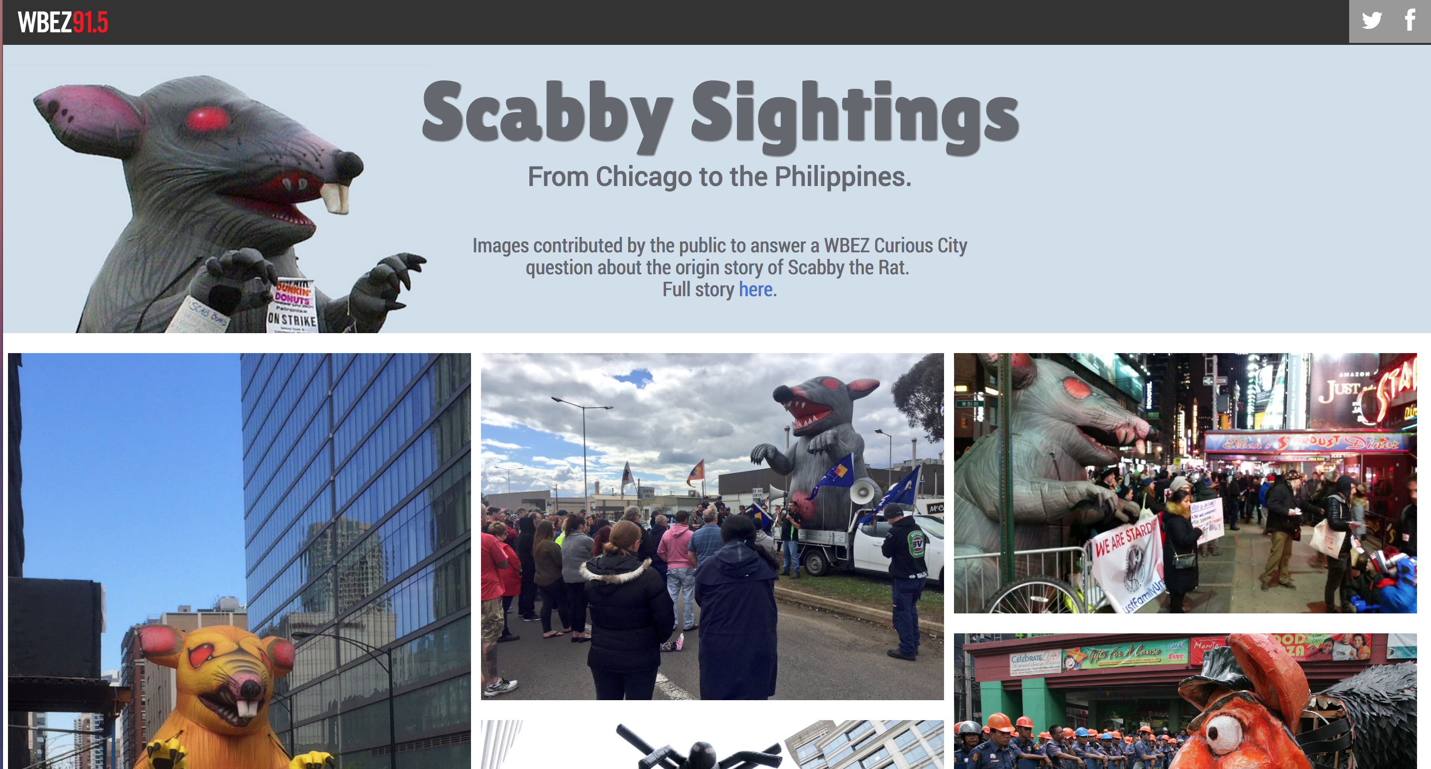 Click to view Scabby photo collage