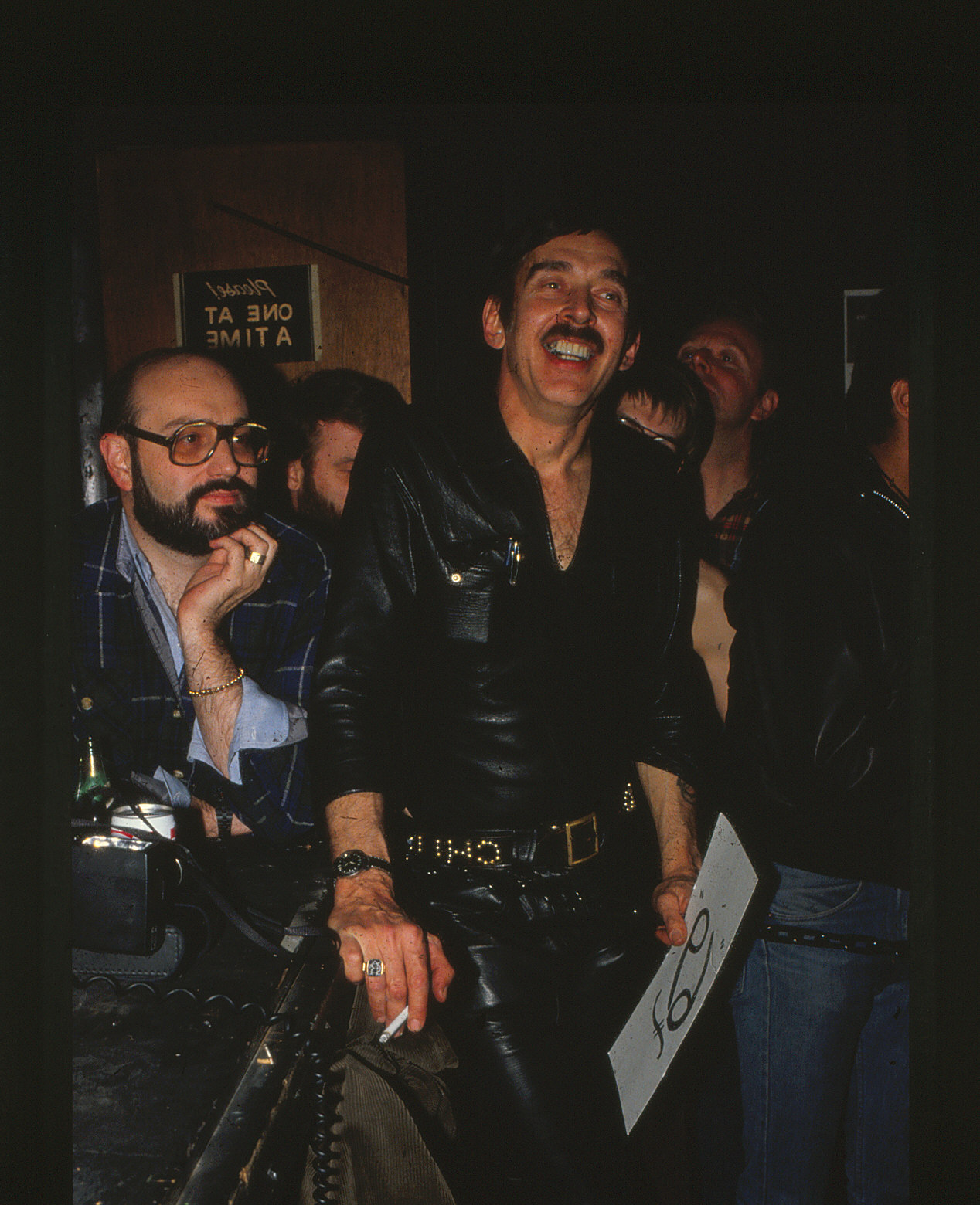 An undated photo of Chuck Renslow, who founded the International Mr. Leather Contest in 1979. (Photo Courtsey of the Leather Archives & Museum)