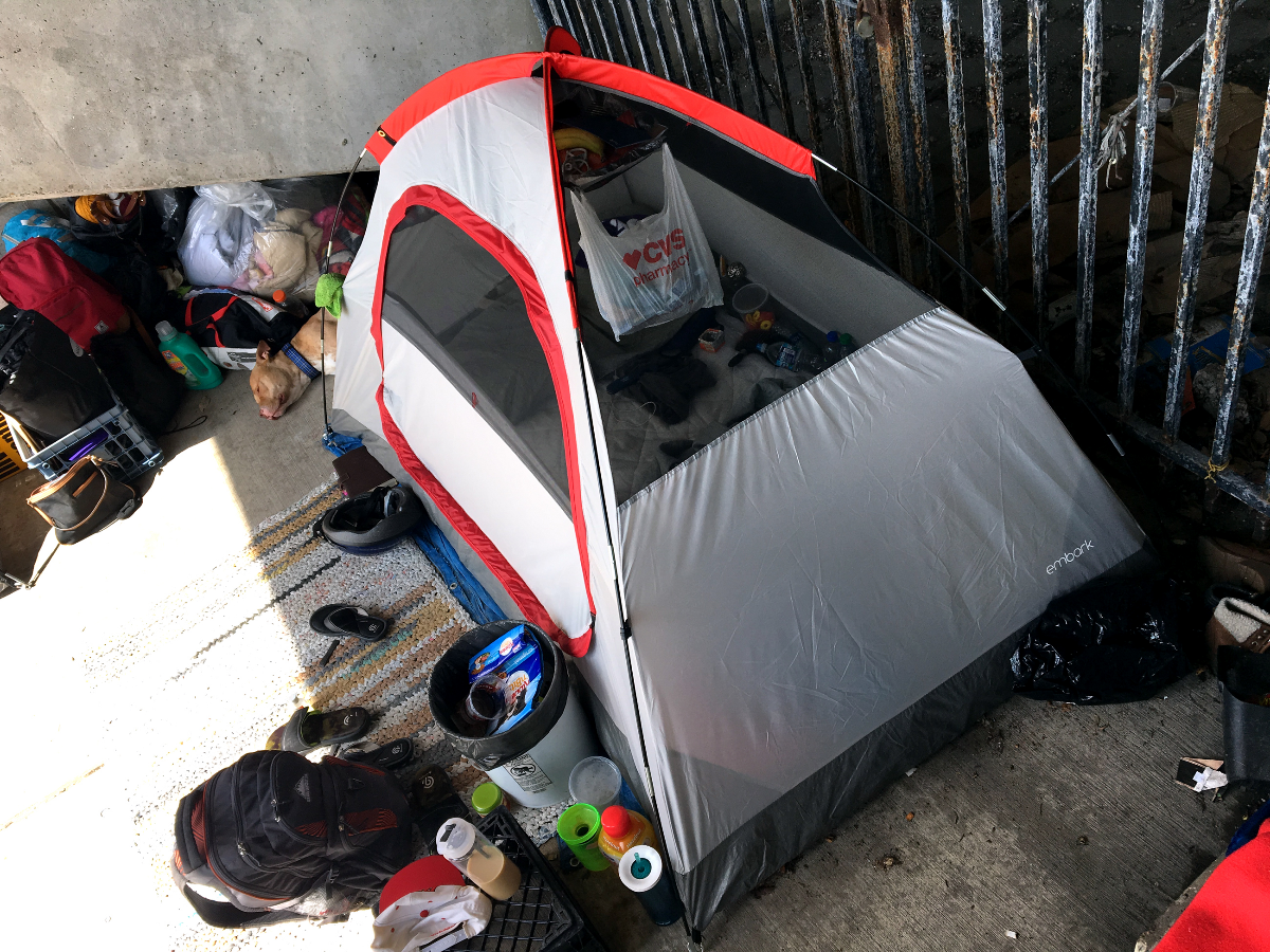 & Where Can Homeless People Pitch Tents In Chicago? | WBEZ