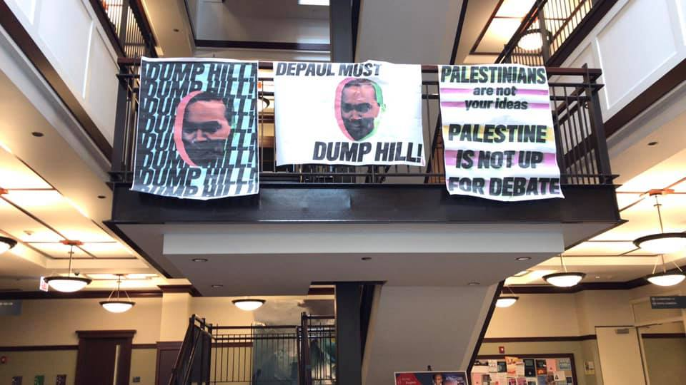 Students For Justice In Palestine at DePaul University is calling on the school to censure a professor whose views they consider Islamophobic.