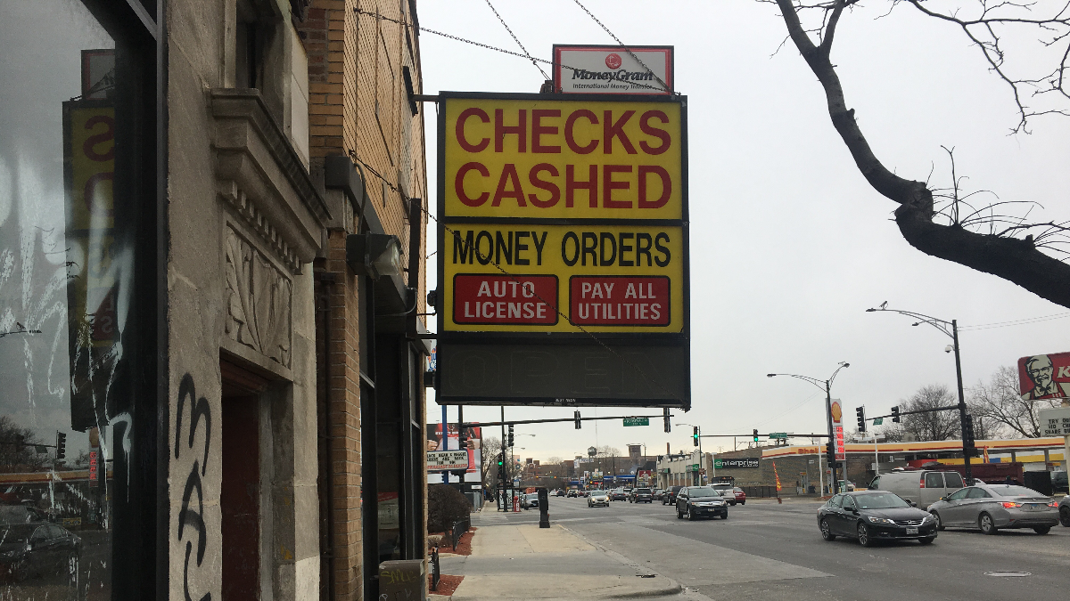 It Could Soon Cost More To Cash A Check At An Illinois Currency Exchange
