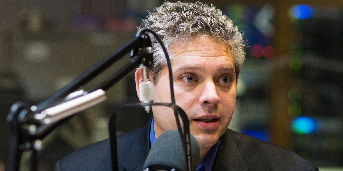 Aaron Goldstein, a civil rights lawyer and the Democratic committeeman for the 33rd ward on Chicago's North Side (Jason Marck/WBEZ)