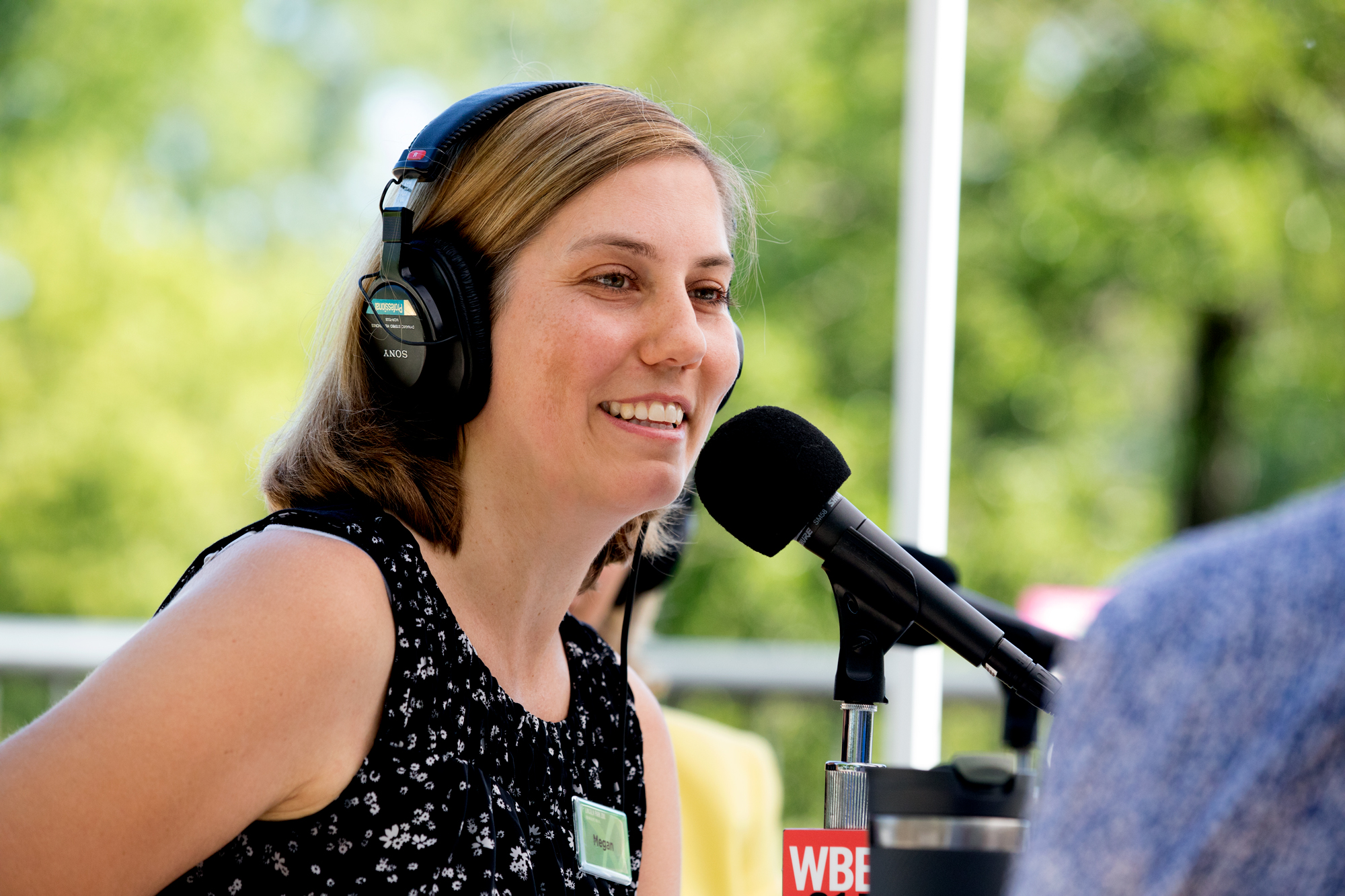 Megan Ross is the Lincoln Park Zoo's executive vice president. She says visitors to zoos and aquaria 'have the opportunity to see up close things that perhaps, and most likely for many of them, they're never going to see in the wild.' (Andrew Gill/WBEZ)