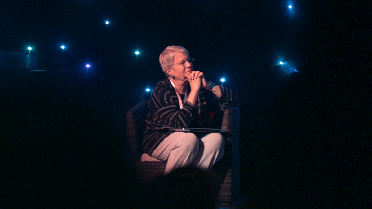 Jill Tarter is the former director of the Center for SETI Research, which searches for extraterrestrial life in the universe. You probably know her best as the inspiration for 'Contact,' a 1985 sci-fi novel that became a movie starring Jodie Foster. (Victor R. Ruiz/Wikimedia Commons)