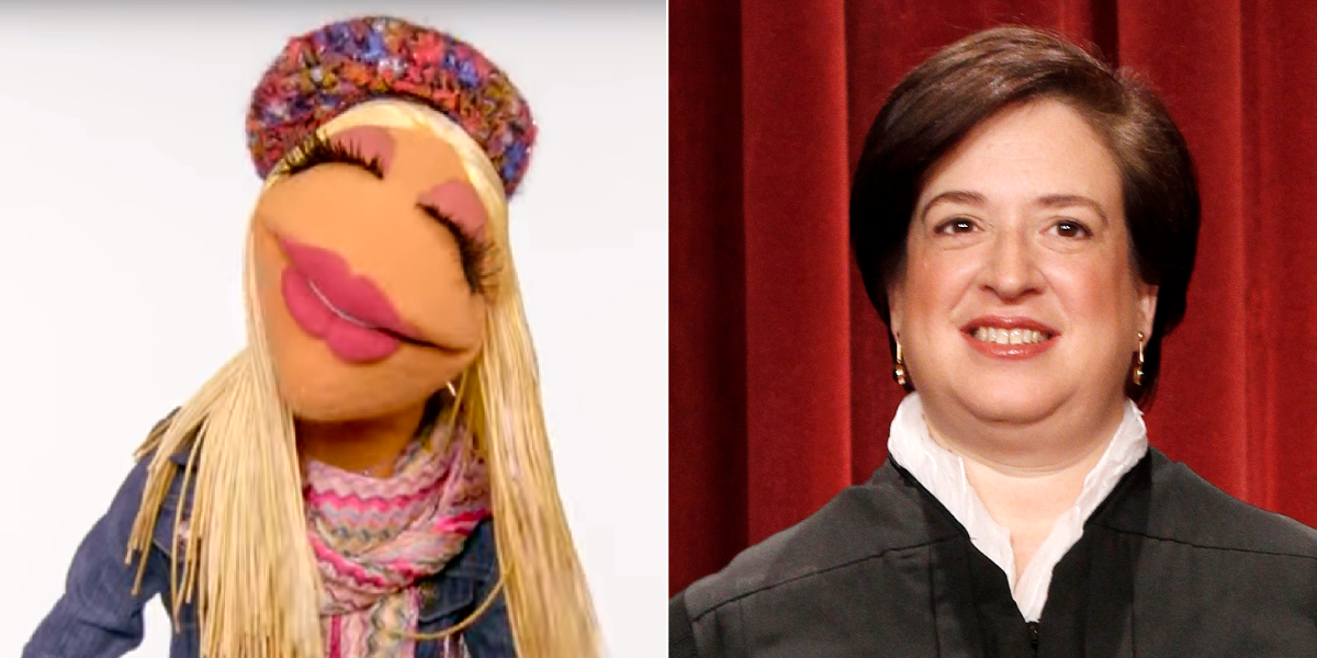 Elena Kagan is Janice, says Lithwick. (Screenshot from YouTube/Disney/The Muppets, Pablo Martinez Monsivais/AP)