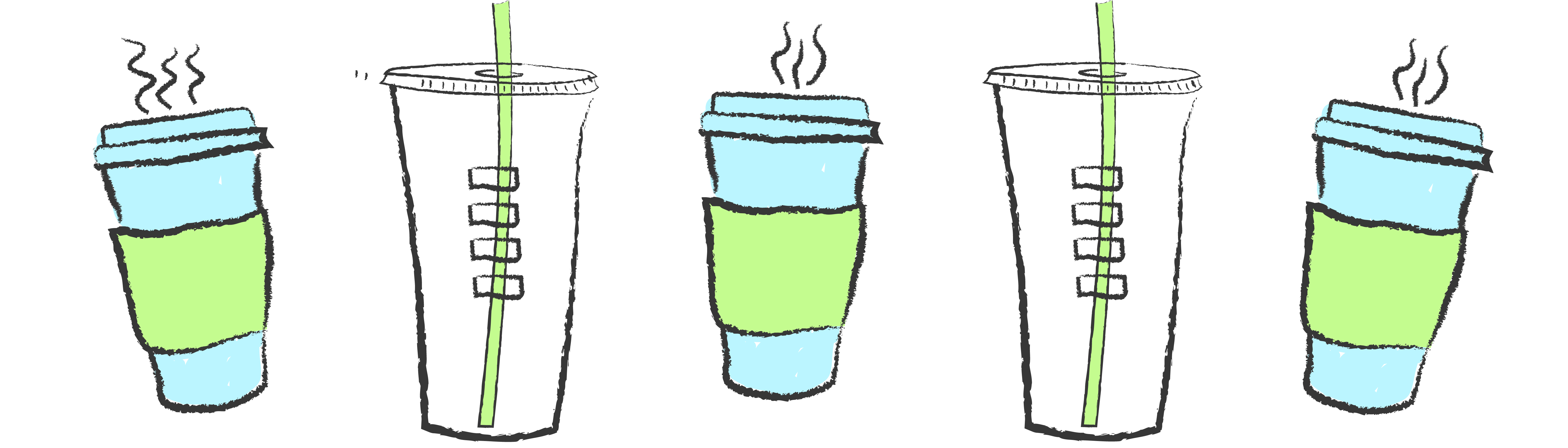 Starbucks cup header recycling