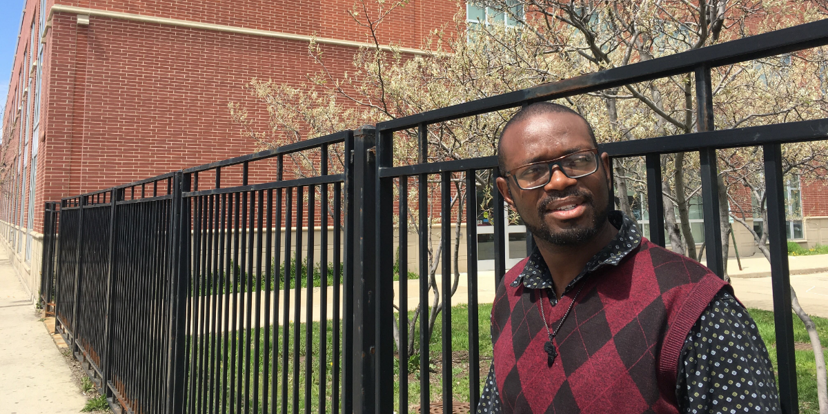 Nathan Price is one of several students who raised concerns about the quality of the HVAC program at Kennedy-King College in Chicago's Englewood neighborhood. He recently graduated.