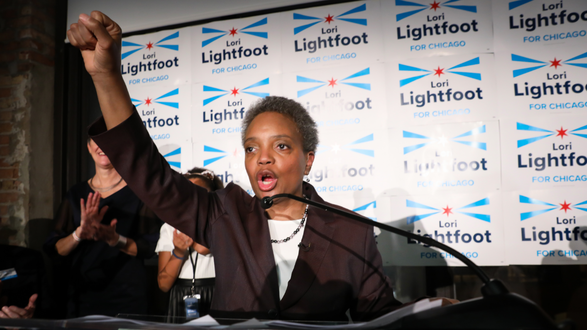Lori Lightfoot Sworn In As Chicago's First Black Woman Mayor
