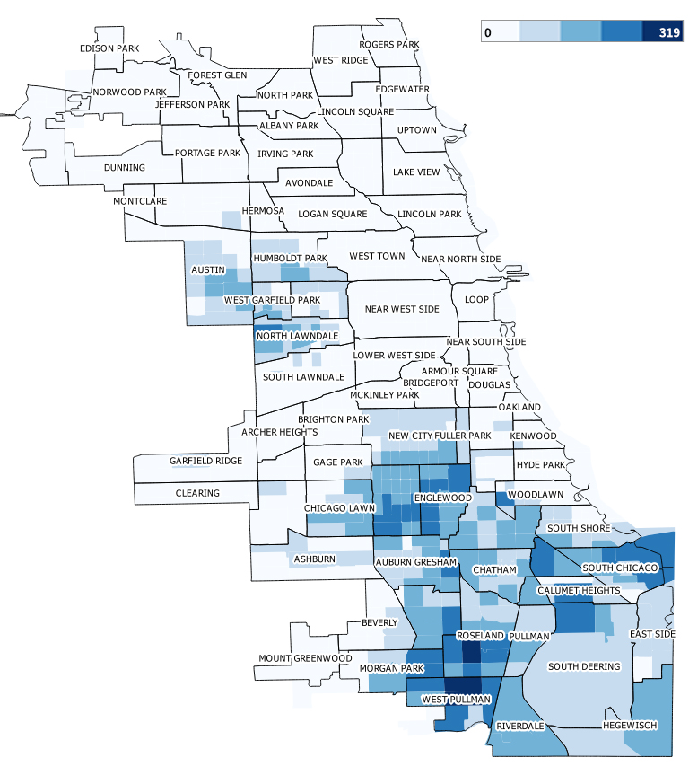 chicago map of property taxes