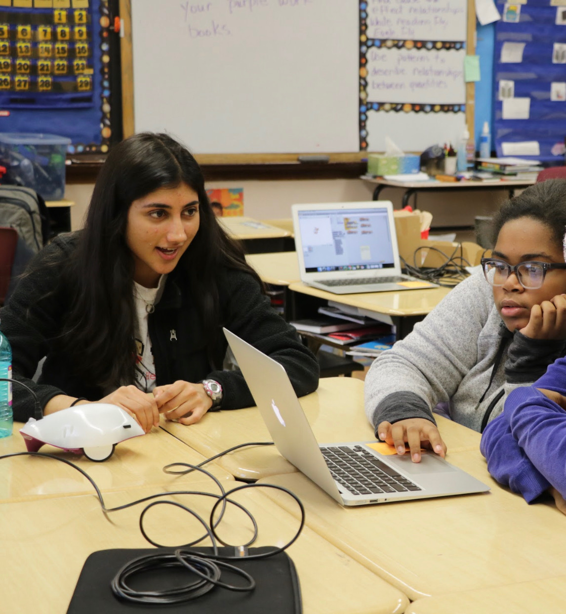 University of Chicago student Devshi Mehrotra devotes up to 25 hours a week working on programs designed to get young girls excited about computer science.