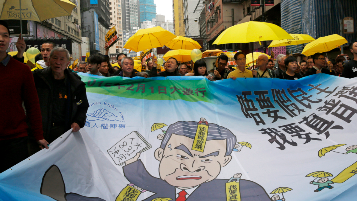 Protesters from Hong Kong's Occupy Central Movement on Trial