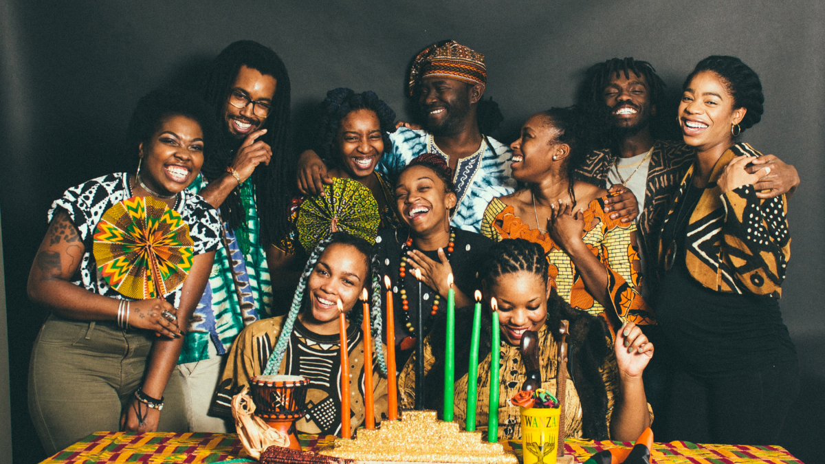 The members of SuperGroup have been working to revive interest in Kwanzaa. (Courtesy of SuperGroup)