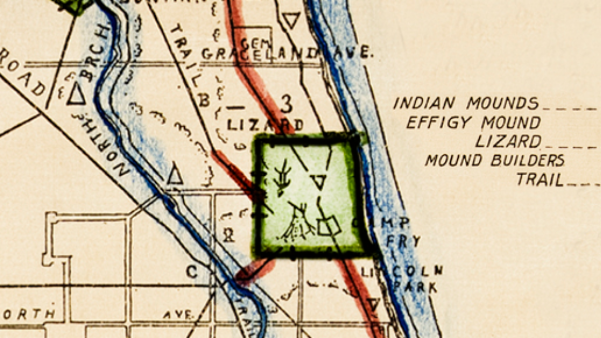Map Quest: Searching for Chicago's 'Lizard Mound' | WBEZ