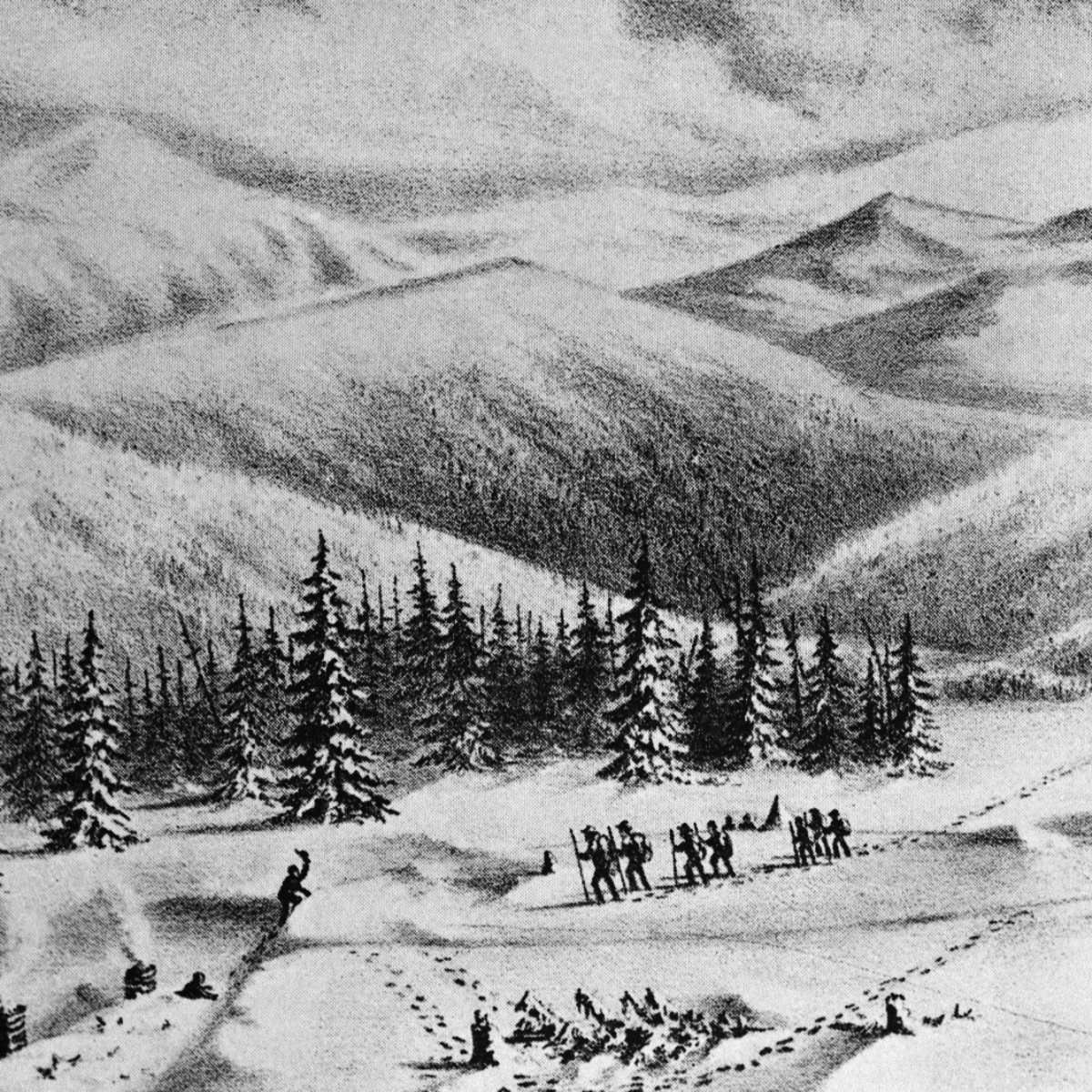 the american characteristic of ignorance shown in the donner party The donner party was a group of american pioneers, led by james frazier reed and george and jacob donner that went to california in a wagon train, to look for unoccupied land they started their journey on april 16 1846.