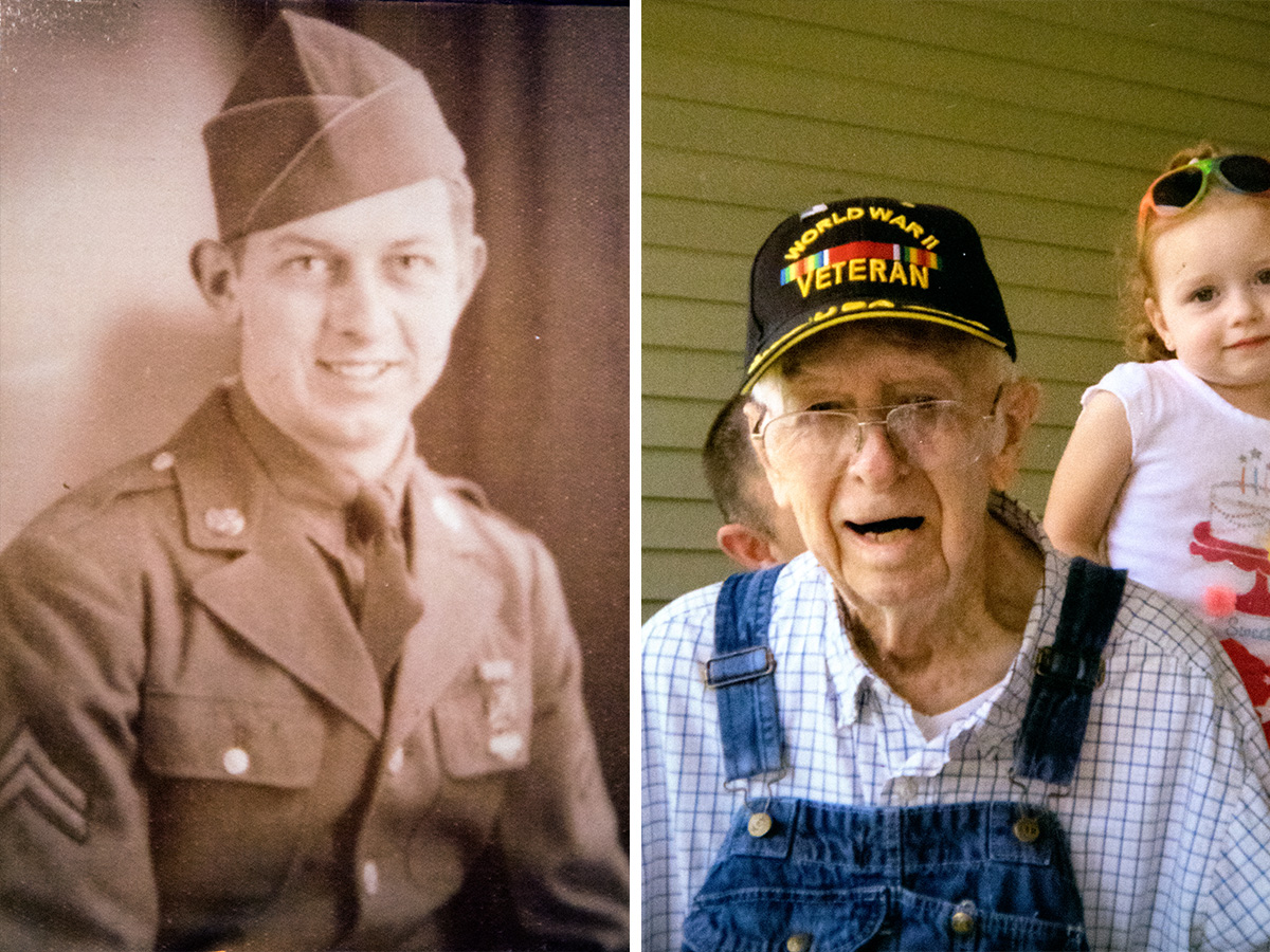 Former Quincy veterans' home resident Gerald Kuhn. (Photo courtesy of Gerald Kuhn's family)