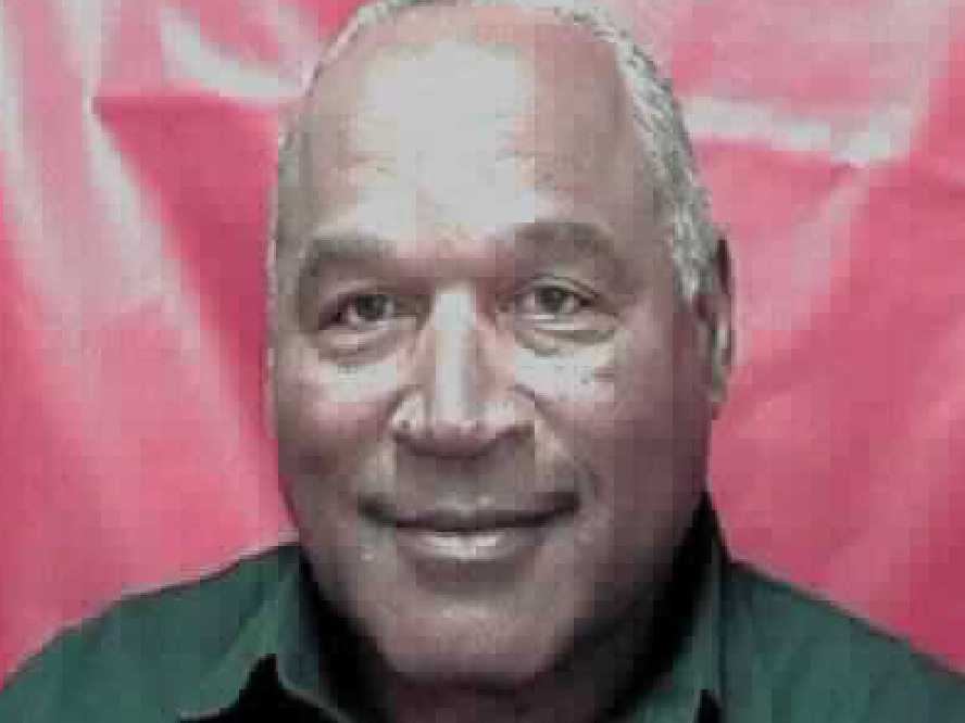 O.J. Simpson in a 2016 photo provided by the Nevada Department of Corrections. (AP/Nevada Department of Corrections)