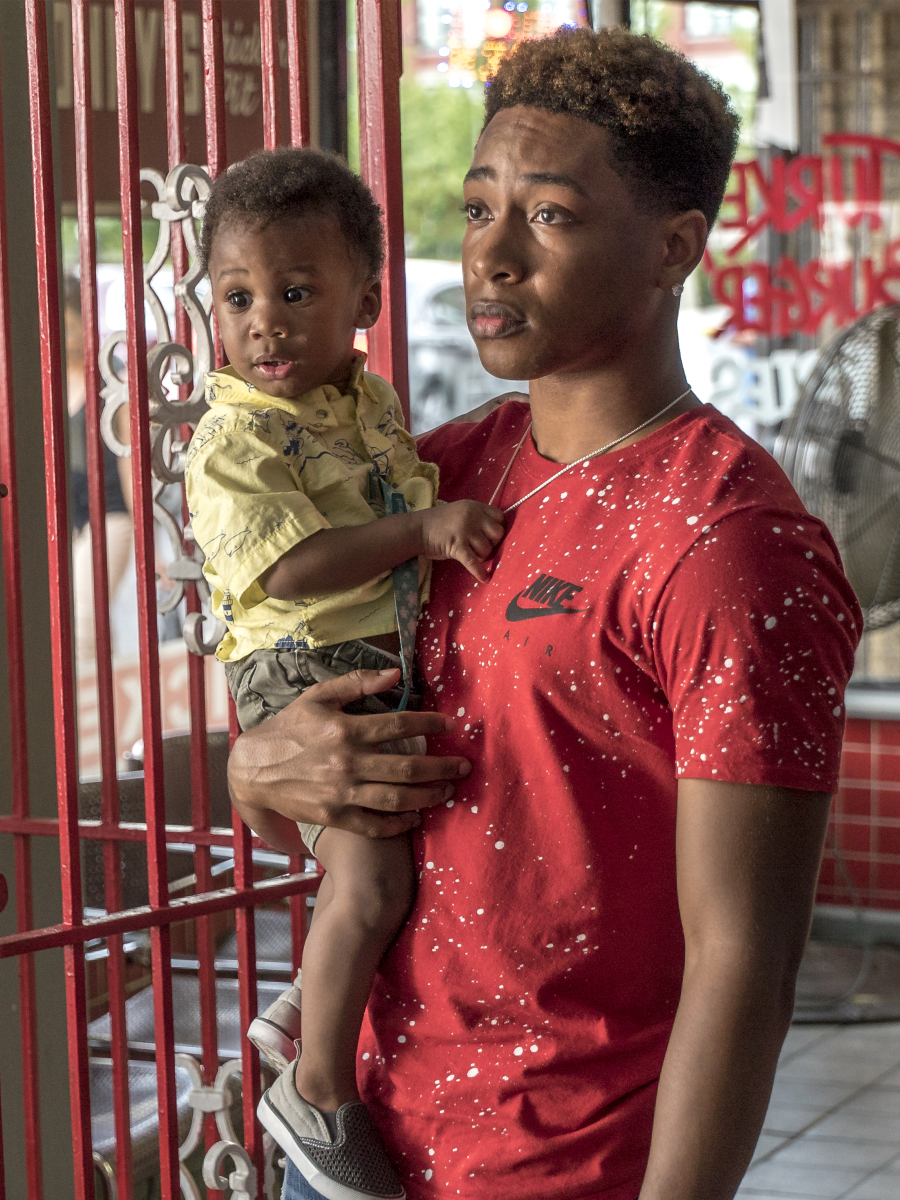Jacob Latimore as Emmett (Matt Dinerstein/SHOWTIME)