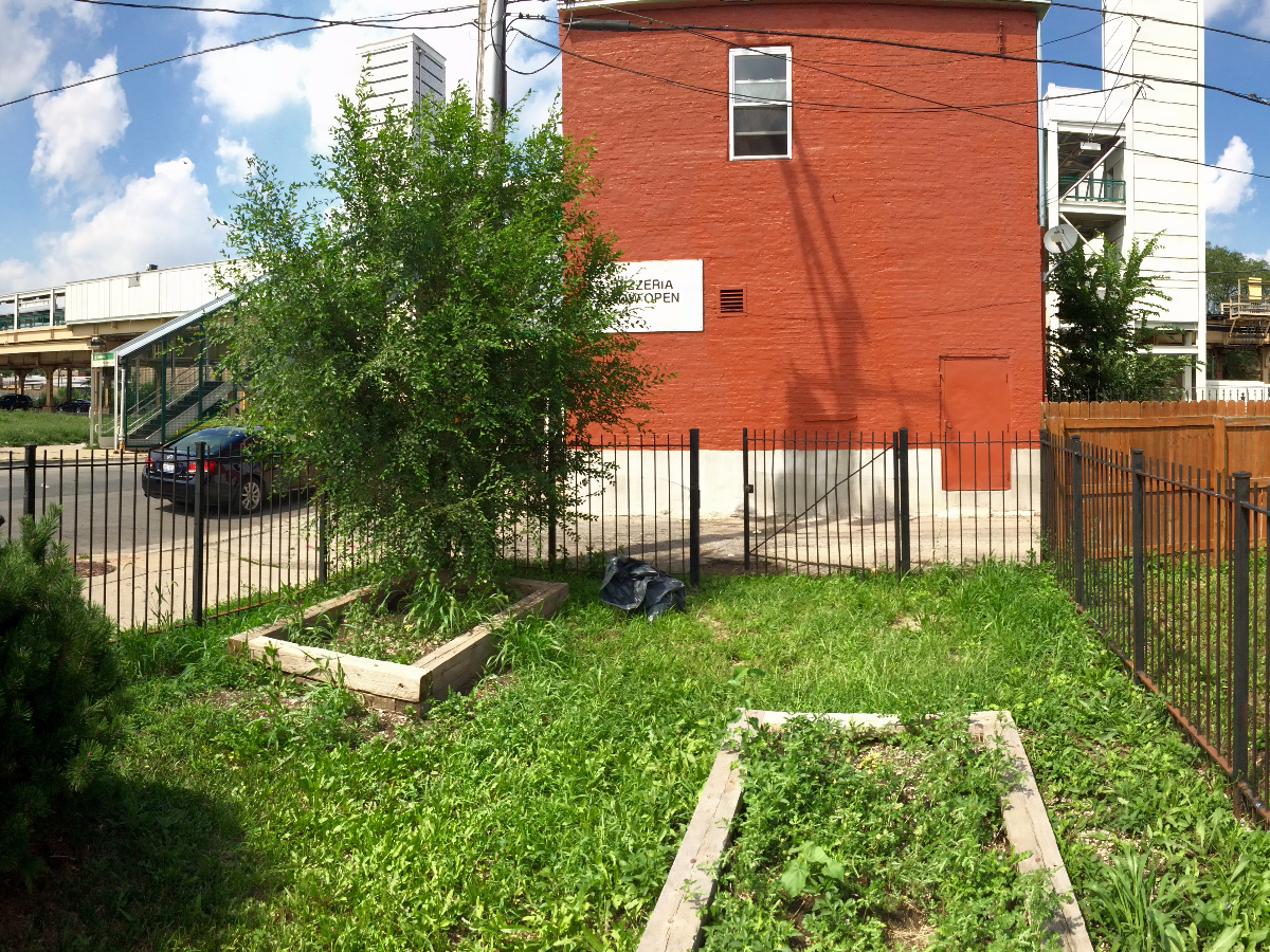 Staniszewski said this Large Lot is one of the lots he hopes may be worth $30,000 in a few years. He said the property was a community garden that fell into disrepair.