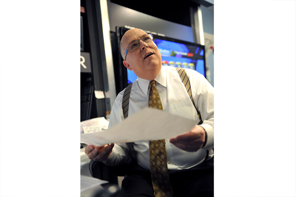 Tom Skilling has served as the chief meteorologist for WGN-TV in Chicago for nearly 40 years. (Courtesy WGN-TV)