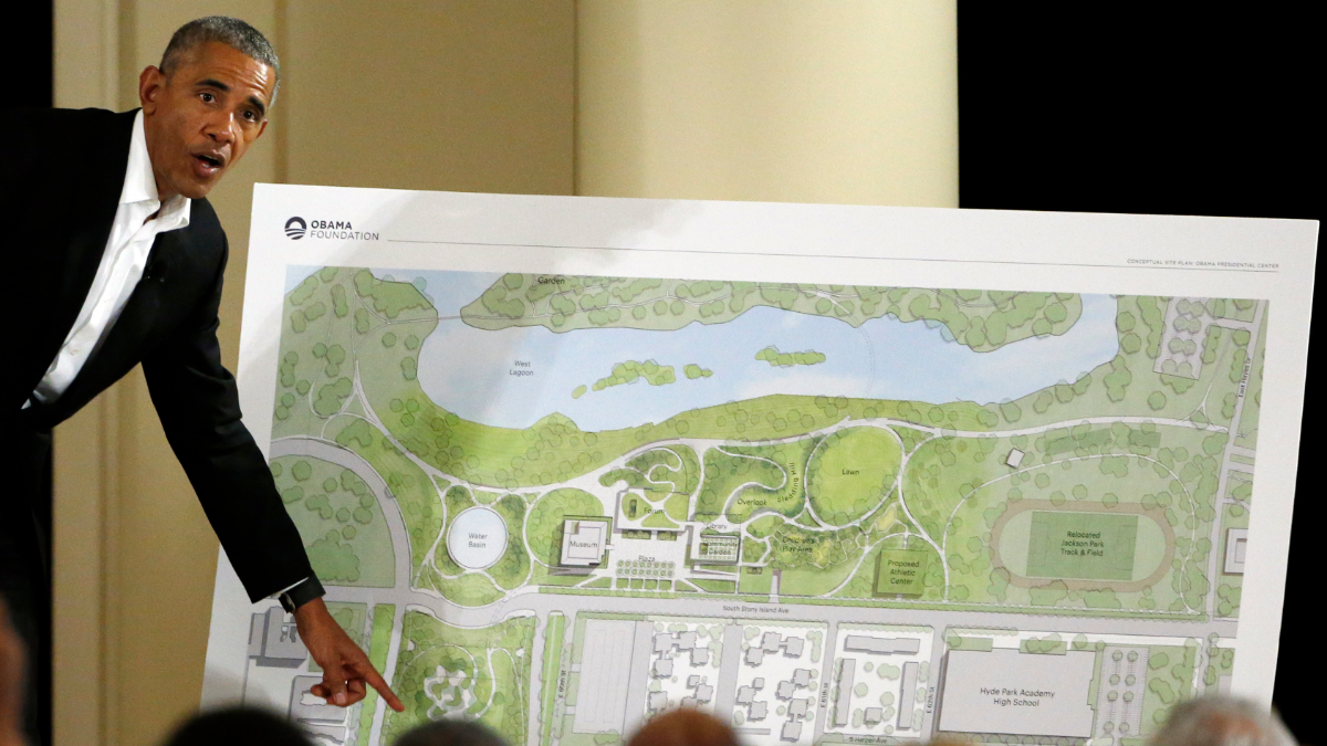 Judge Tosses Out Lawsuit Opposing Obama Presidential Center