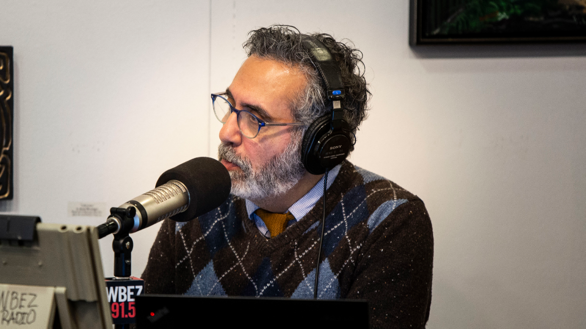 WBEZ's Tony Sarabia hosts a two-hour live special breaking down the results and impact of the 2018 midterms. (Jason Marck/WBEZ)