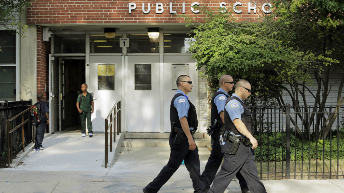 Police Officer Or Counselor? Chicago School Police Trained To Straddle The Line
