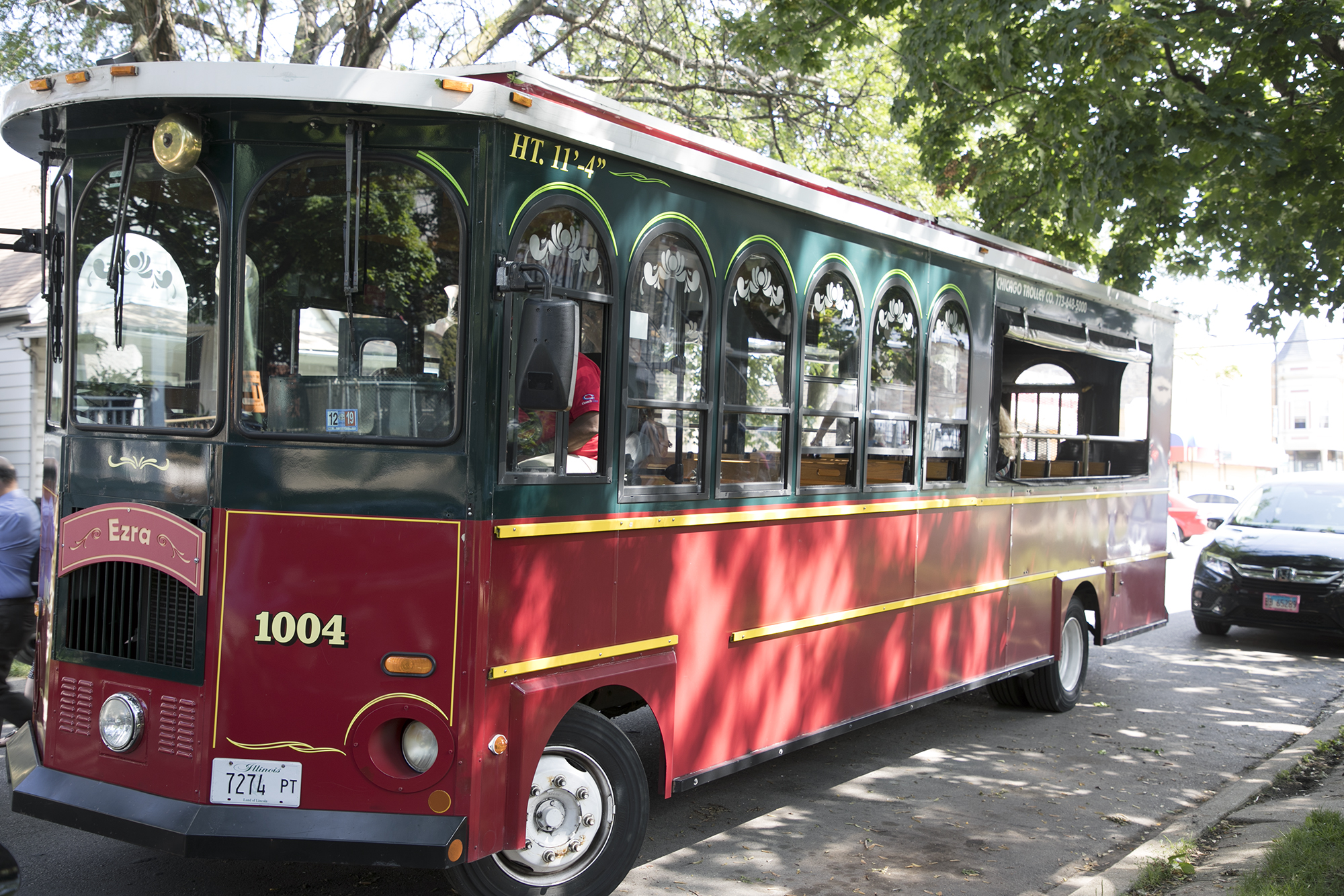 The trolley took guests through the Logan Square, Hermosa and Belmont Cragin neighborhoods.