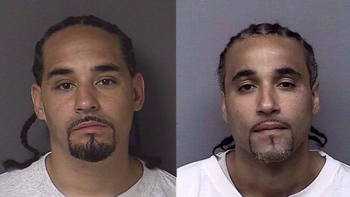 Mugshots of Richard Jones (right) and Ricky Amos side-by-side (Kansas Department of Corrections)