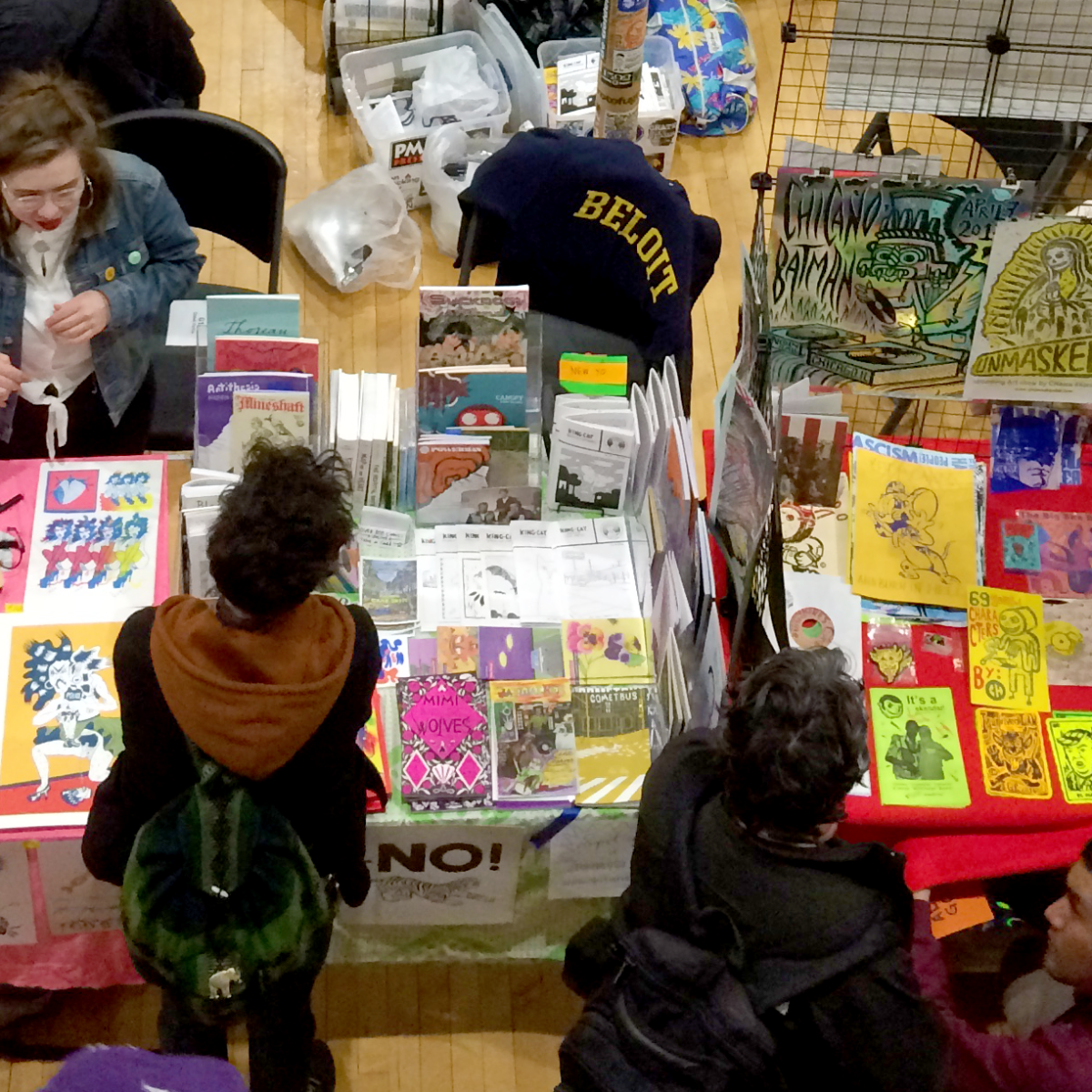 Offline And On Paper: Chicago Teens Make Zines In An