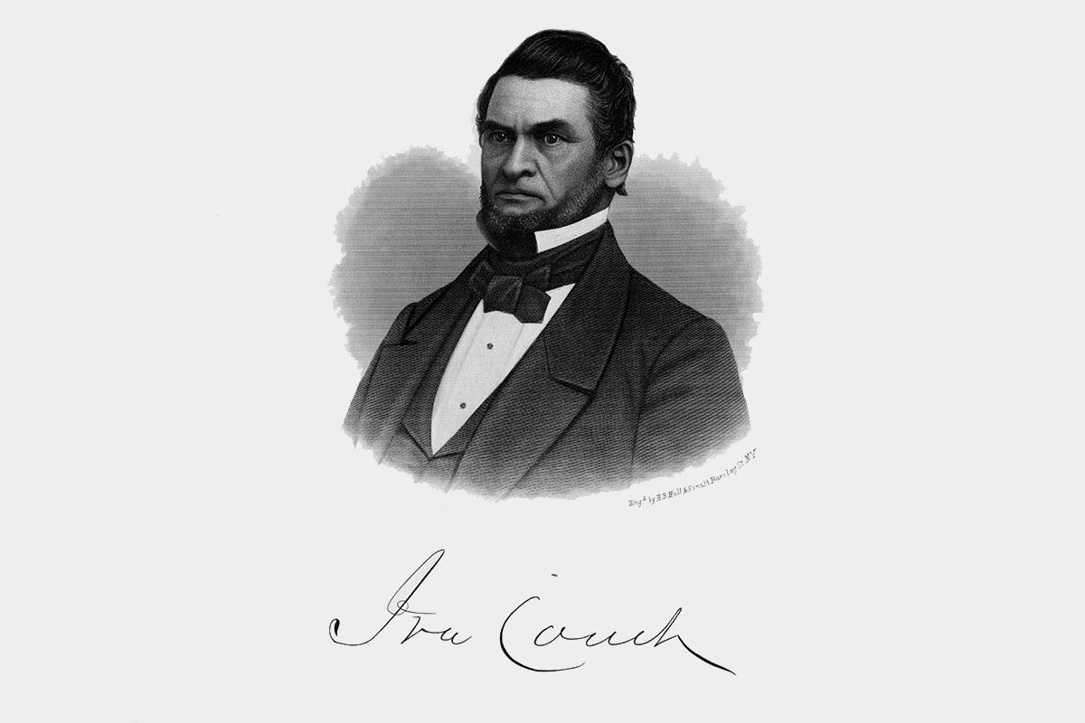 A portrait of Ira Couch. (Courtesy of the Chicago History Museum)