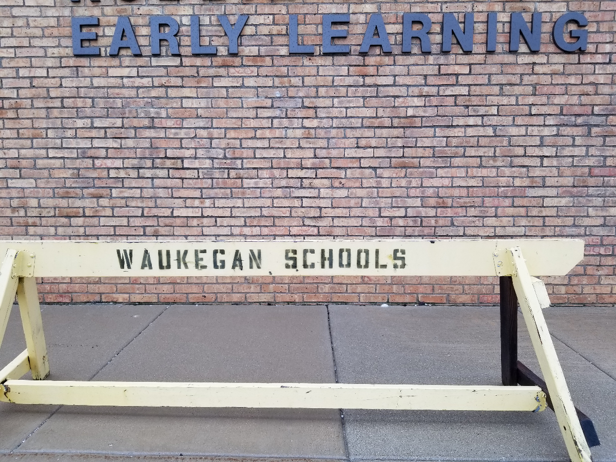 Waukegan schools have received state preschool money for the past 26 years. Their $3.5 million state grant was not renewed this year; the district is paying for preschool with money meant for K-12 students. (Linda Lutton/WBEZ)