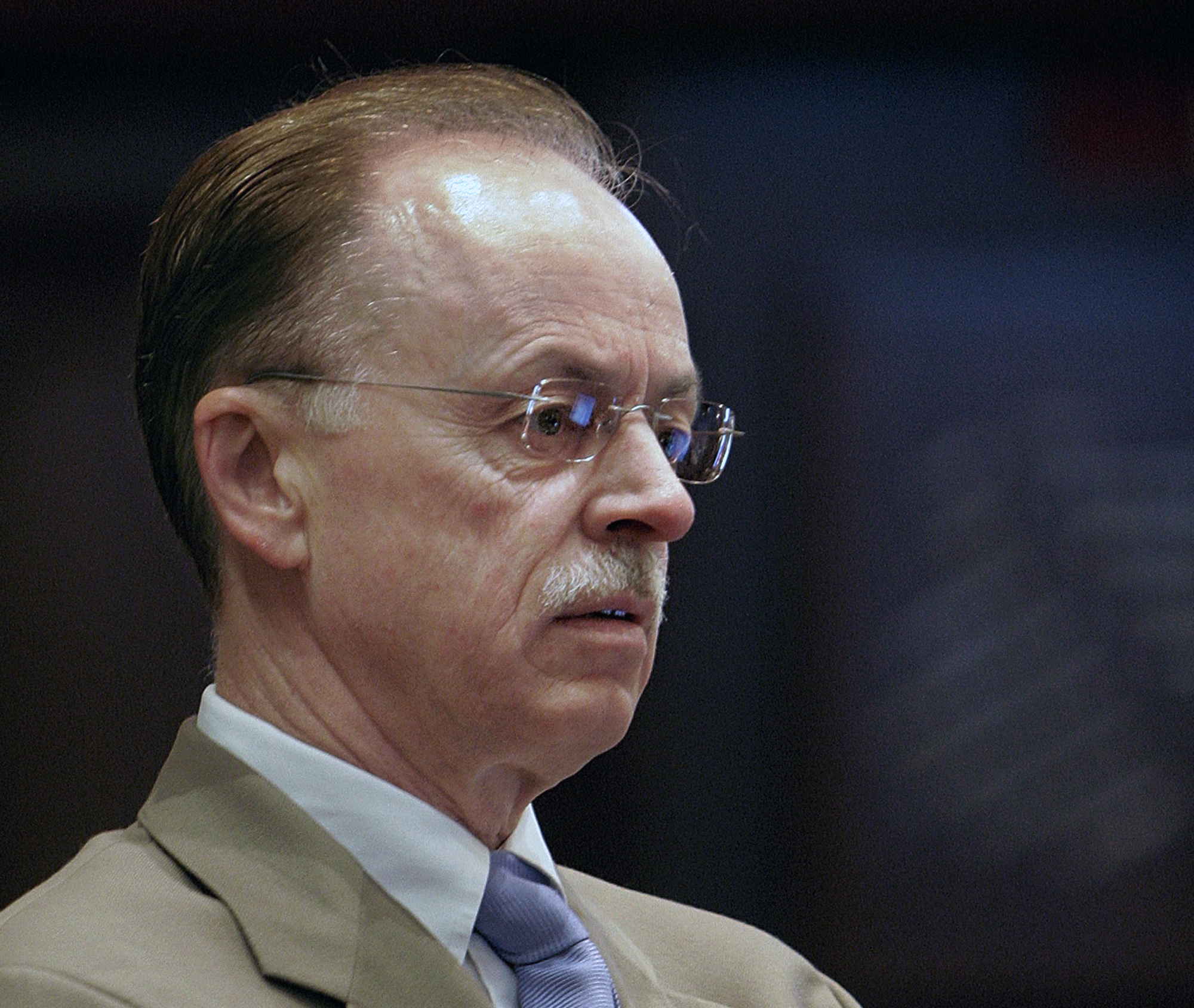 Mapes at the Illinois State Capitol in Springfield on Oct. 4, 2007. (AP Photo/Seth Perlman)