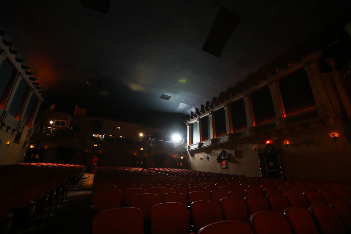 Music box auditorium