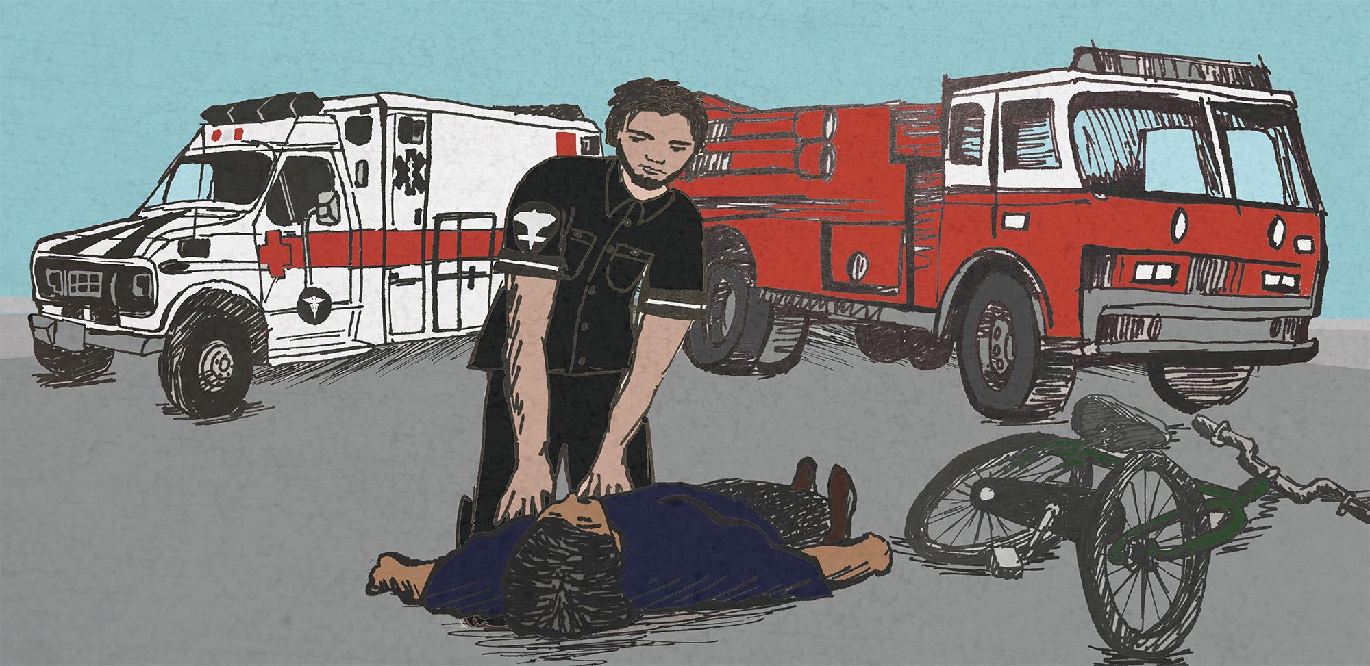 First Responder  Why Do Fire Trucks Often Arrive Before Ambulances For  Medical Emergencies  f9e6e2e94