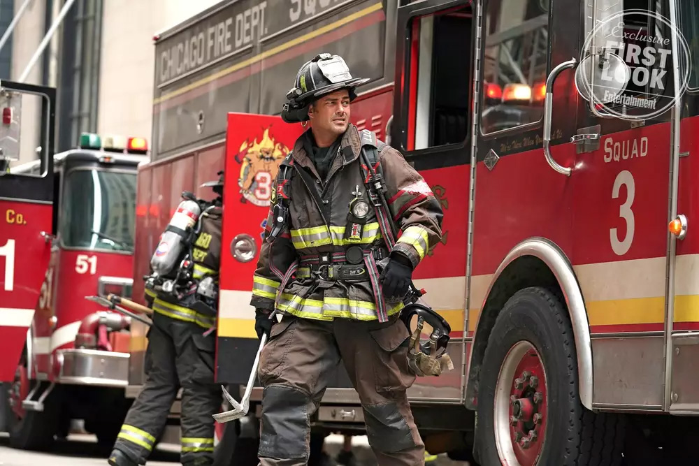 Taylor Kinney as Lt. Kelly Severide in 'Chicago Fire.' (Elizabeth Morris/NBC)