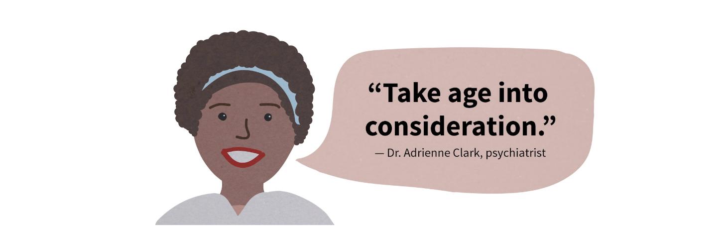 Psychiatrist Adrienne Clark