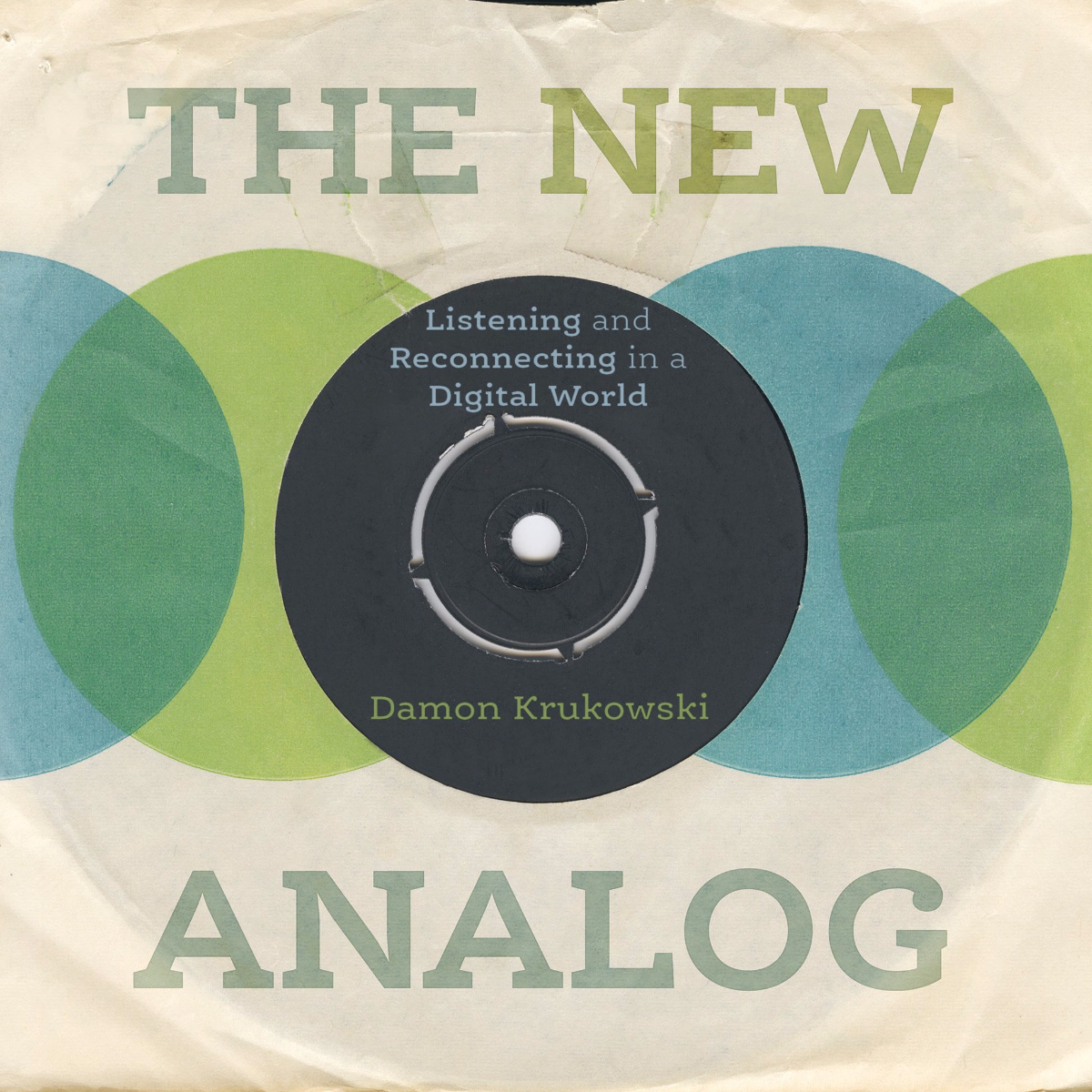 Damon Krakowski, author of 'The New Analog: Listening and Reconnecting in a Digital World,' reads from his book at Quimby's Bookstore in Chicago on Tuesday, May 2, 2017 (Book cover image courtesy of the author)