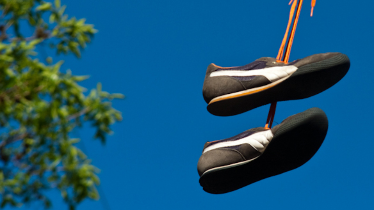 Shoes On A Wire Untangling An Urban Myth Wbez Telephone Line Colorcodes For Home Wiring In The Usa Image 1