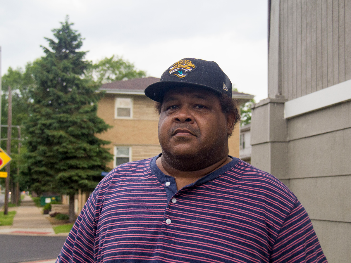 Cary Willis said he was surprised to learn that Reimann had returned to prison after being removed from Calumet City. (Paula Friedrich/WBEZ)