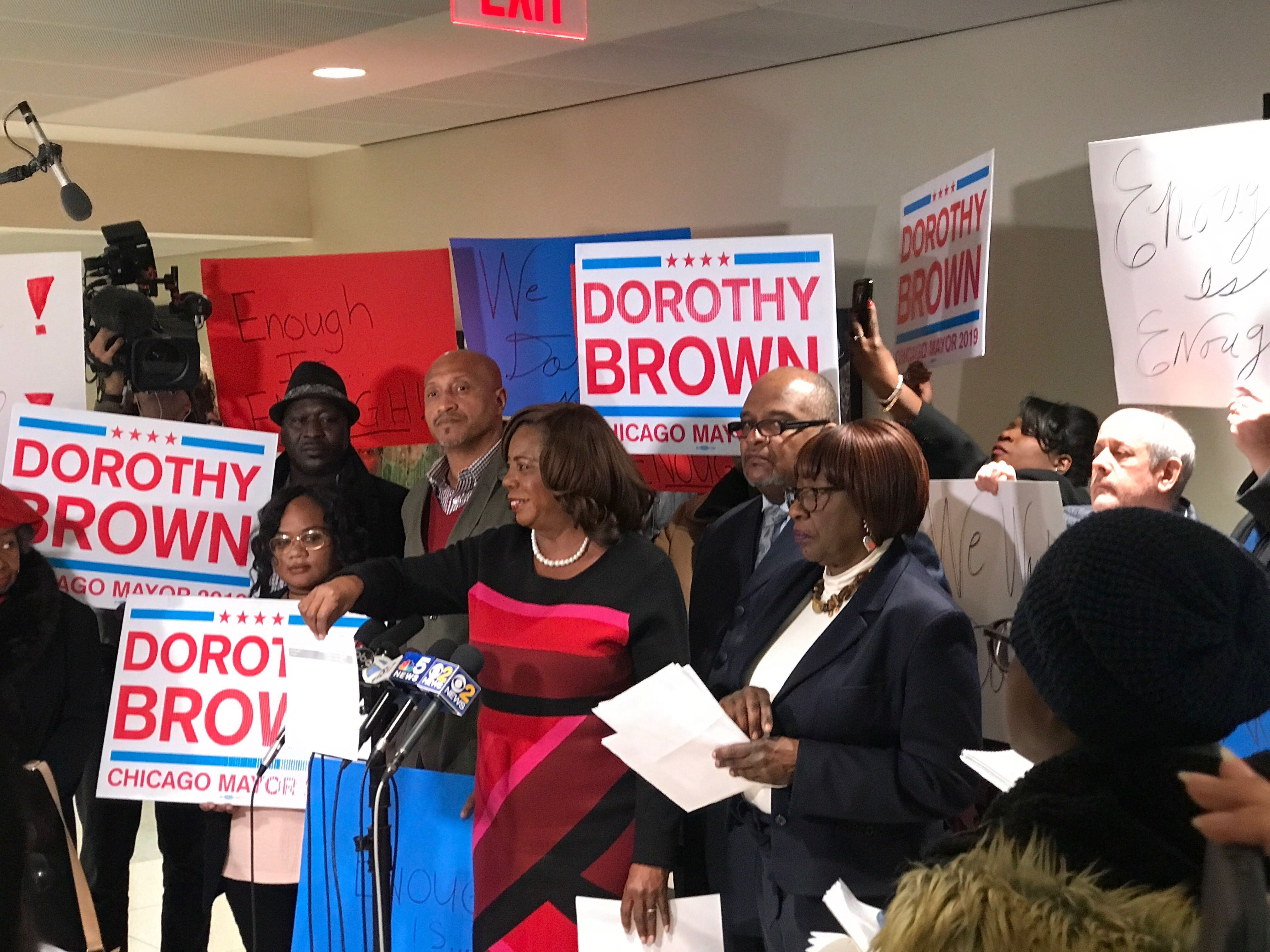 Dorothy Brown's Campaign Fund Is Skimpy  Is She Running? | WBEZ