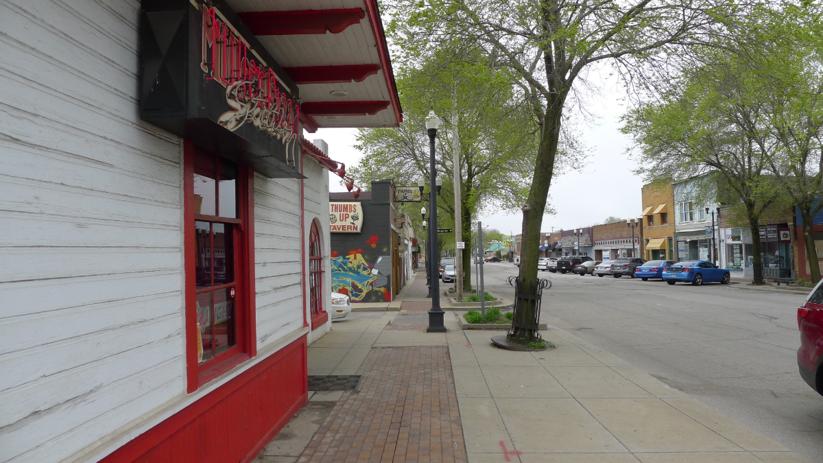 Lake Street in Gary's Miller neighborhood has shown signs of an upswing with new shops and eateries.