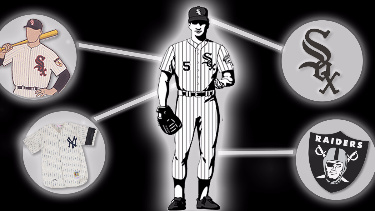 the best attitude 9d8ef 4cc9c Who Came Up With The Iconic White Sox Look? | WBEZ